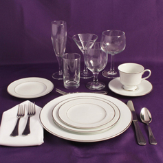 Table Setting Rentals in the Northeast Corridor