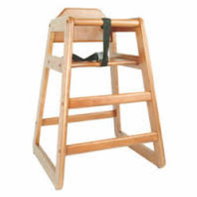 Where to find Chair, Child High Chair, Wooden in Honesdale