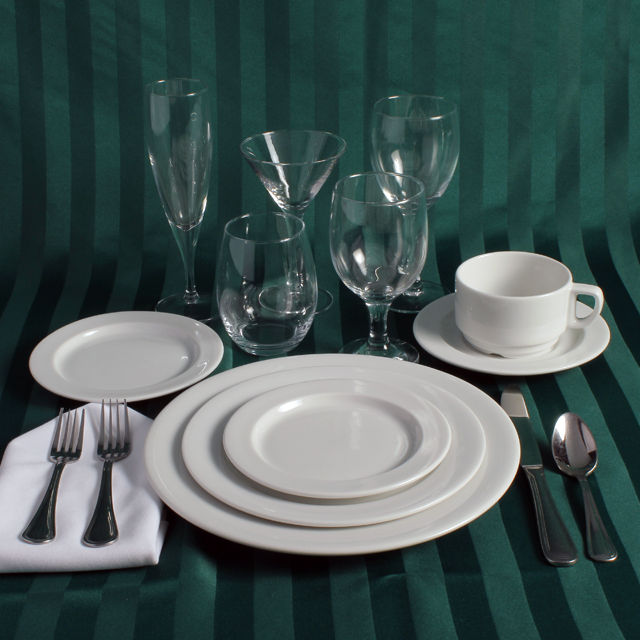 Rent Porcelain Place Setting