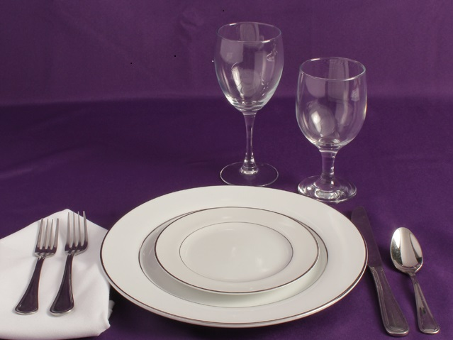 Rent Place Setting Packages
