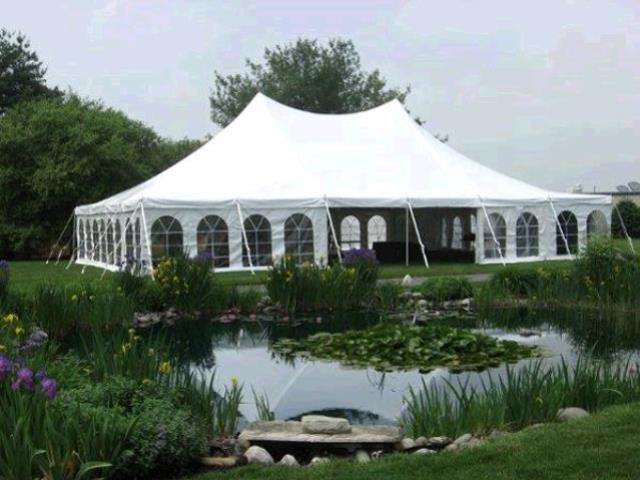 Tent 40x60 evolution pole rentals Honesdale PA | Where to rent tent